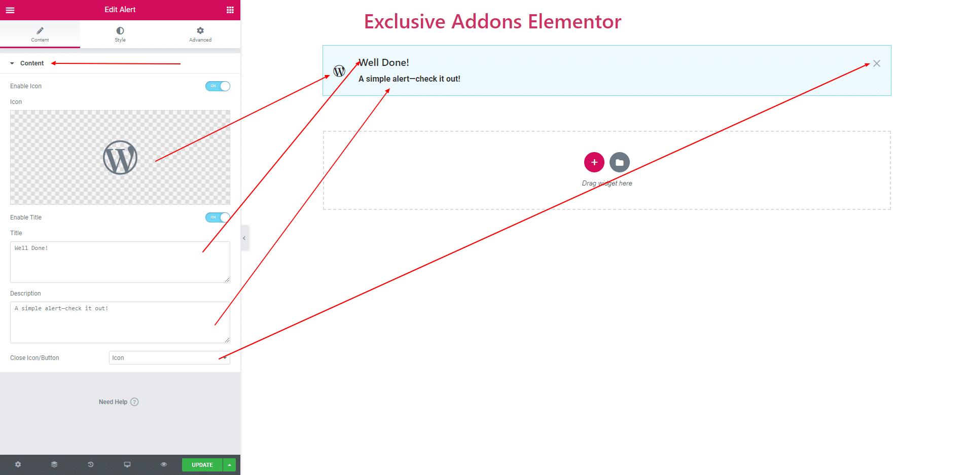 Exclusive Elementor addon