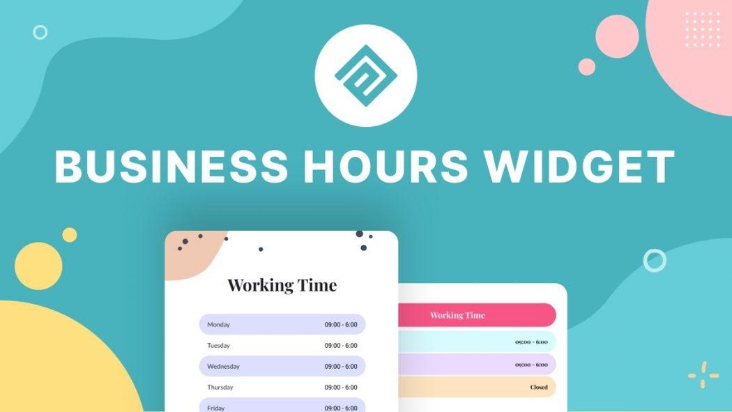 Business Hours Widget