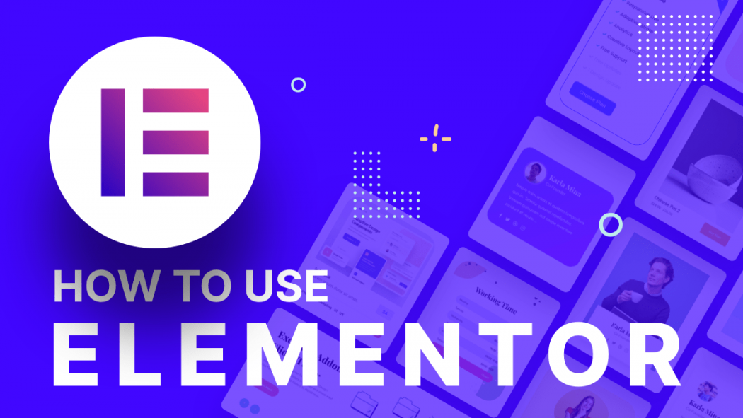 how to use elementor