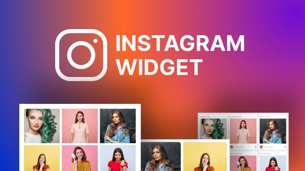 instagram widget wordpress site