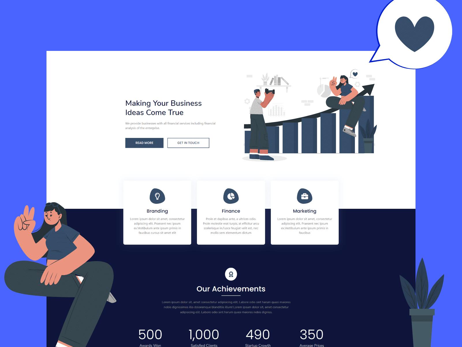 Finance Homepage