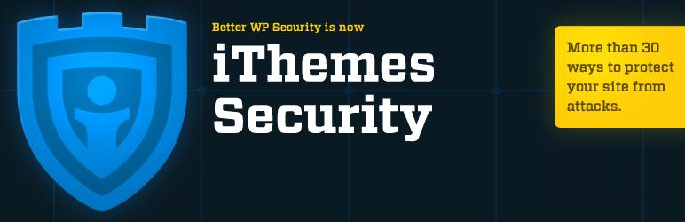 iThemes Security plugin for wordpress