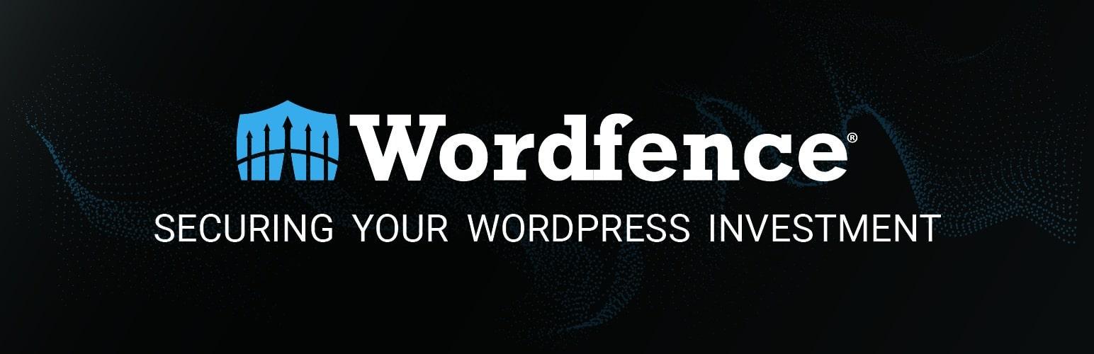 Wordfence Security for wordpress plugin