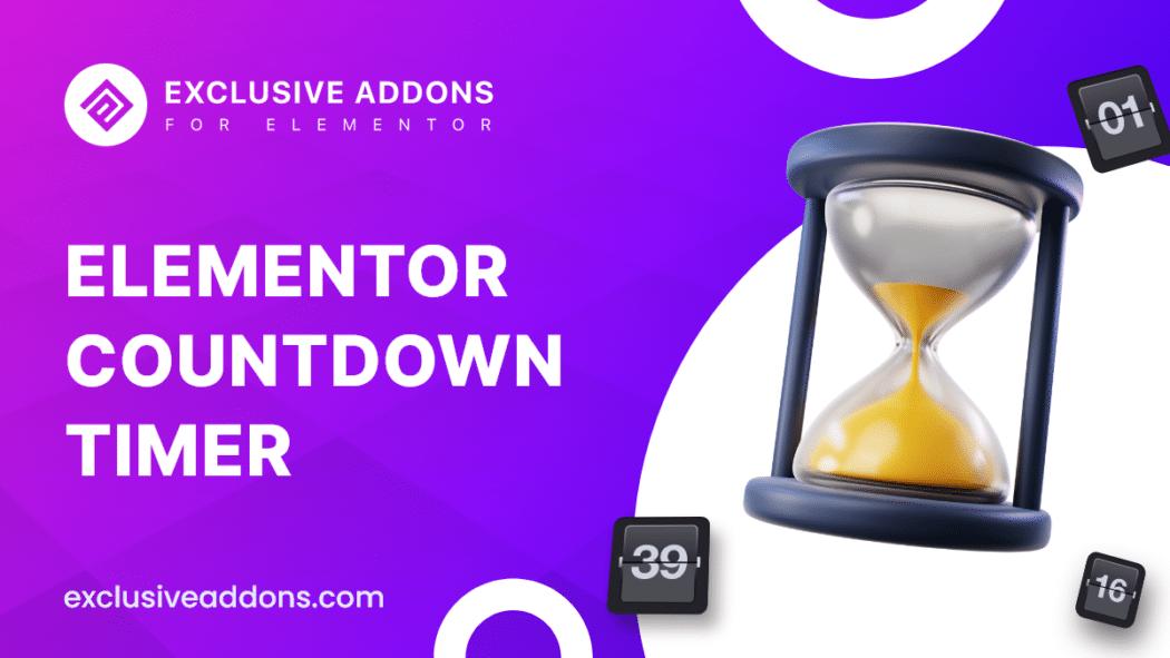 elementor countdown timer widget for wordpress site