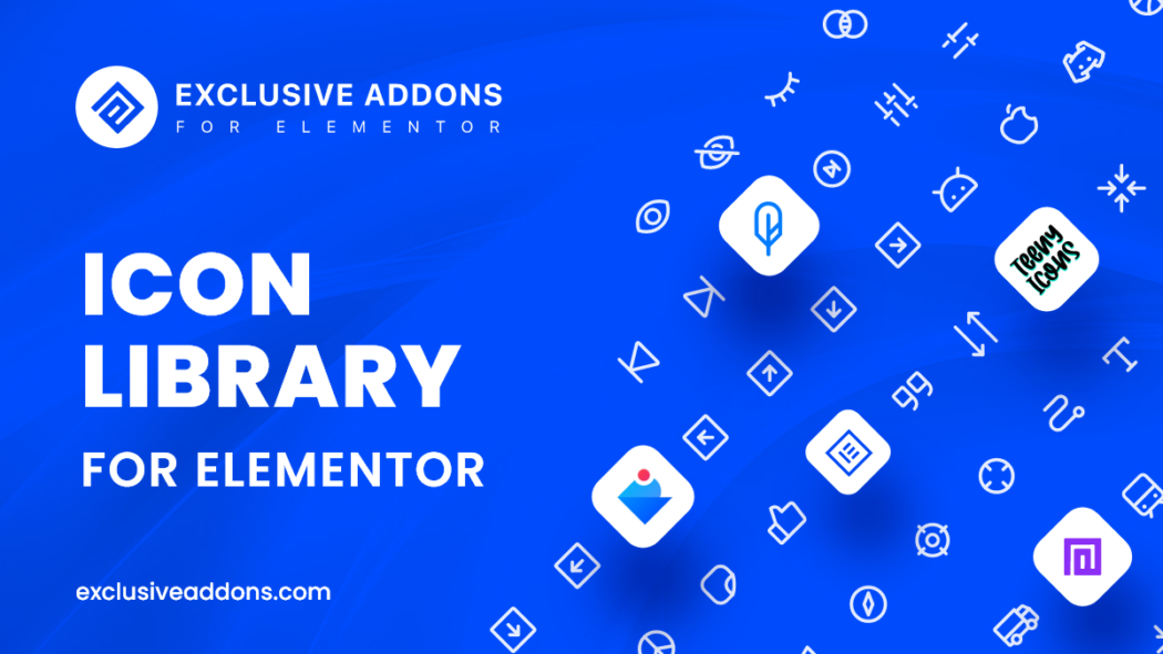 free elementor icons library