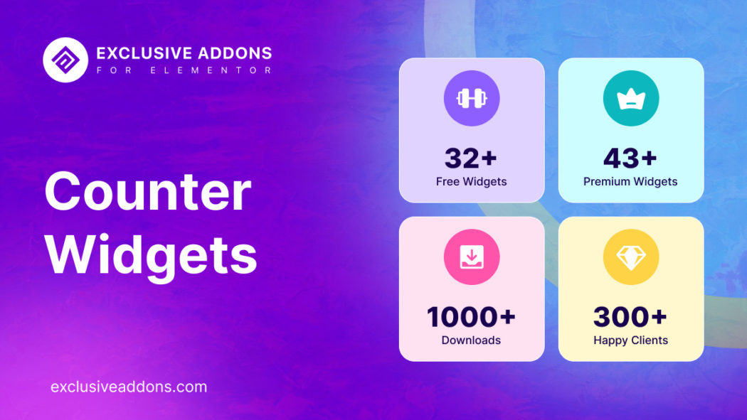 counter widgets for elementor page builder