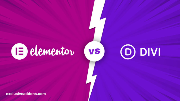 elementor vs divi-WordPress page builder