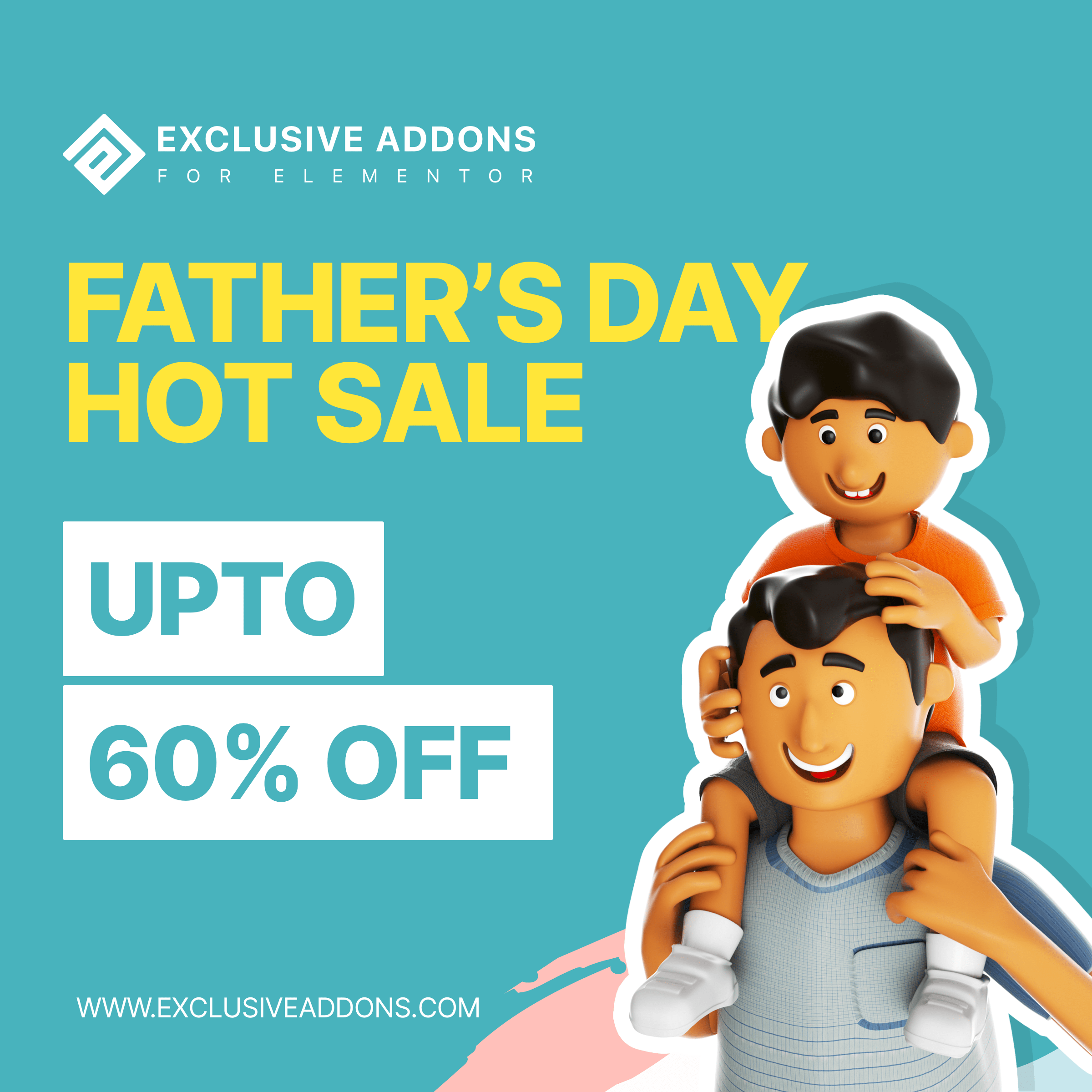 fathers day offer for elementor page builder