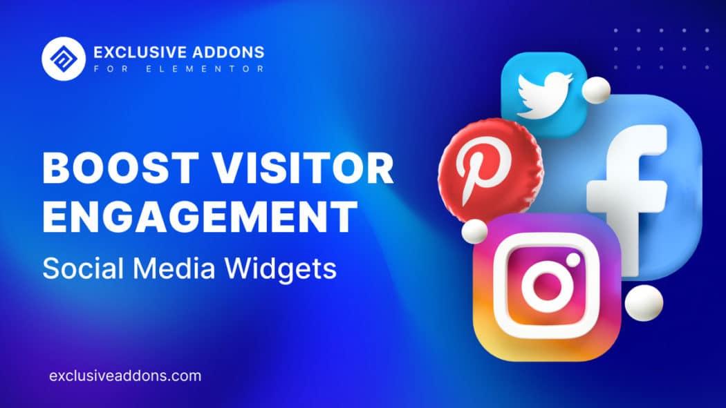 Social Media Widgets for Elementor