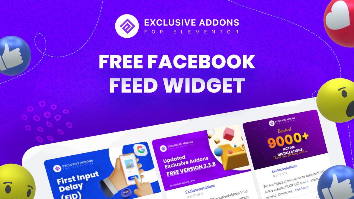 Facebook Feed WIdget - Social Media Widget