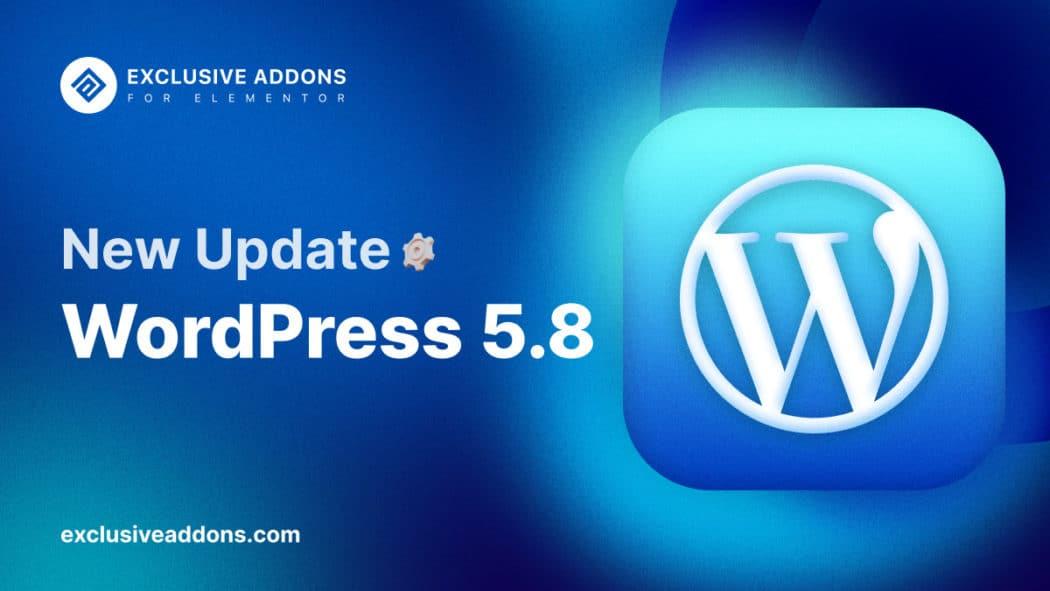 latest wordpress version 5.8