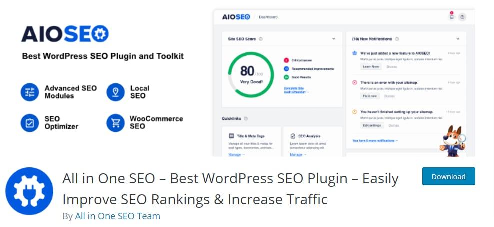 WordPress SEO plugin_All-in-one-SEO