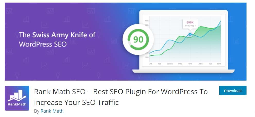 WordPress SEO plugin_RankMath SEO