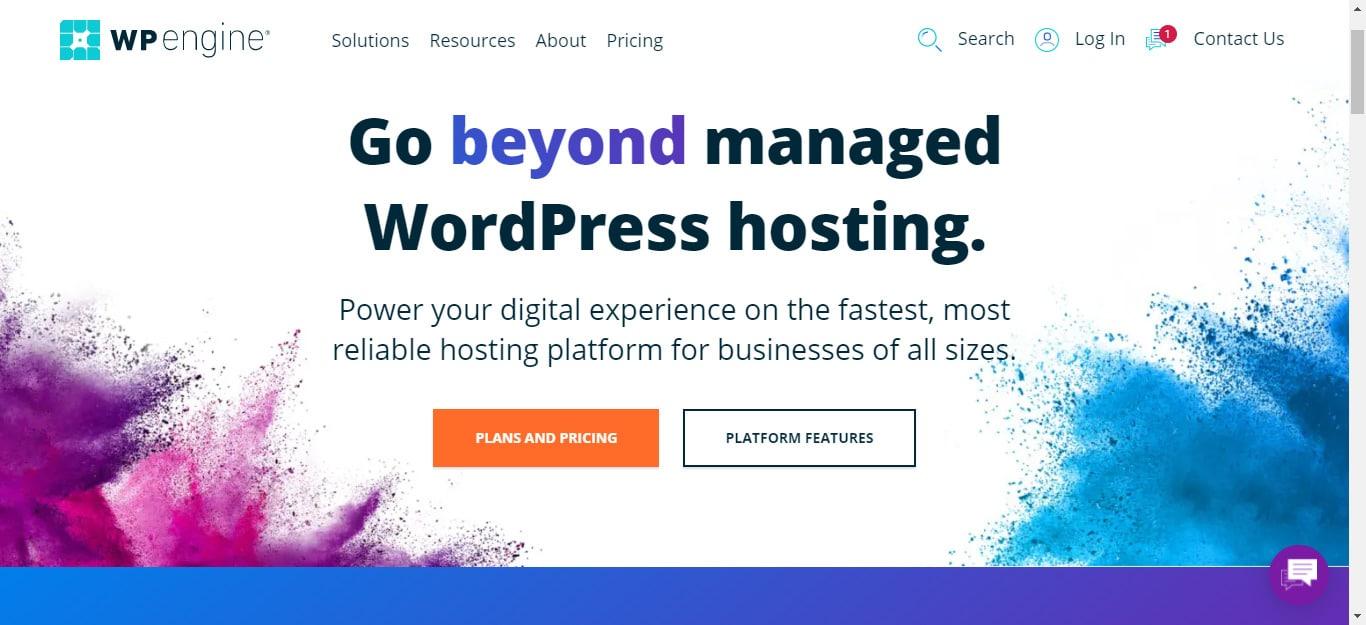 WP Engine for wordpress hosting