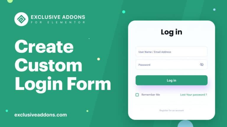 Elementor-Login-Form