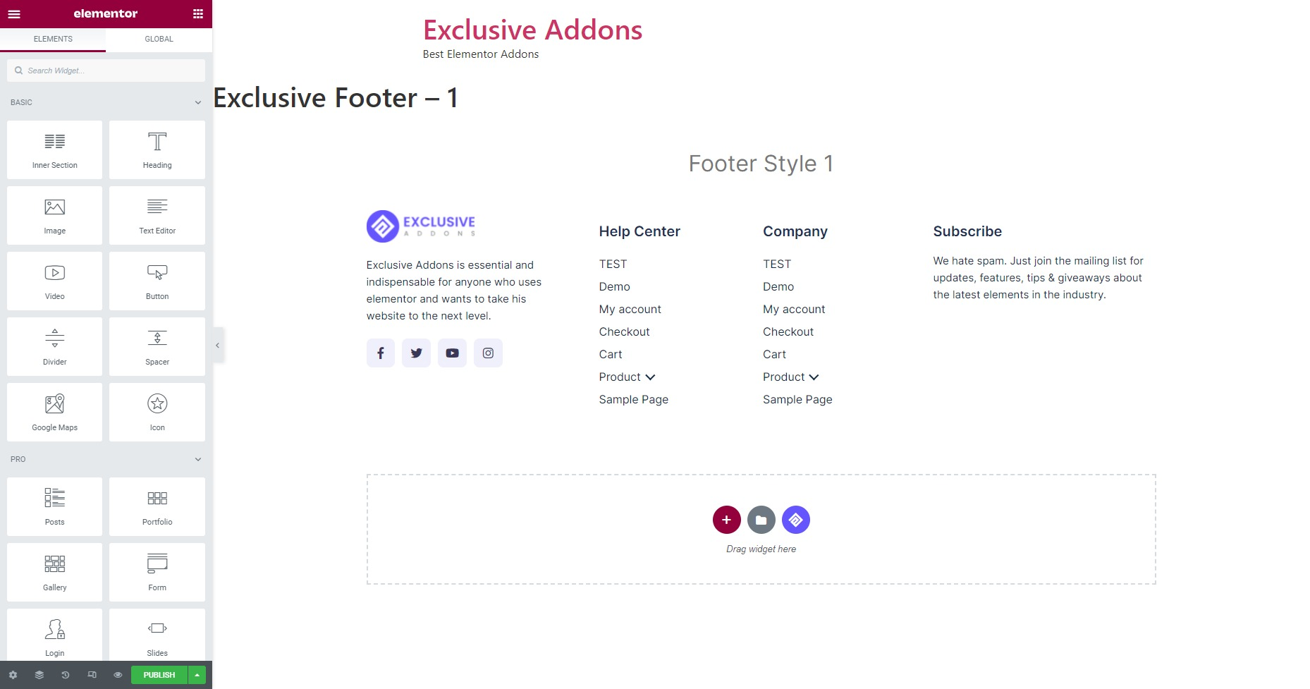 Exclusive Addons Header Footer -5